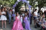 С детско лавандулово шоу започна Празникът на лавандулата в Карлово
